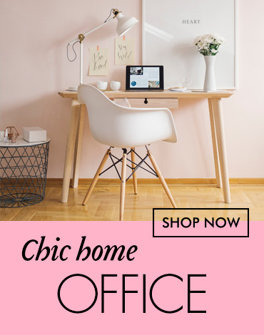 Chic Home Office Furniture and Decor