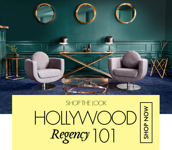 Hollywood Regency Furniture and Decor