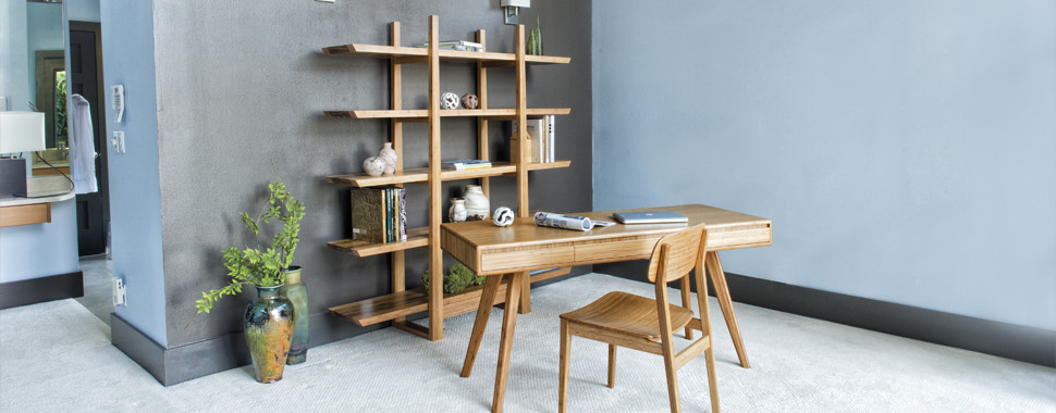 Stay organized with Modern Office Shelving