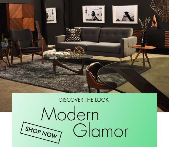 Modern Glamour Furniture And Decor